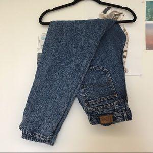 Lee High Waisted Blue Mom Jeans